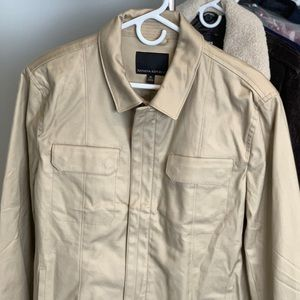 Banana Republic - lightweight Khaki jacket
